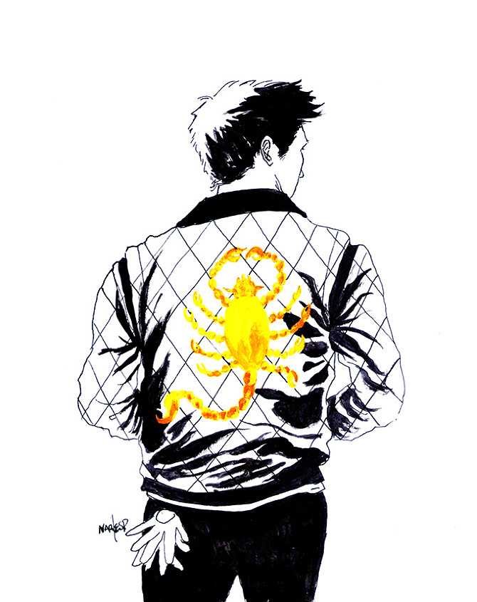 A Real Hero - Narciso Espiritu Illustration