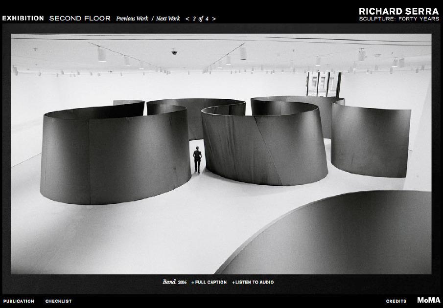 Richard Serra Sculpture Forty Years Richard Serra Sculpture 40