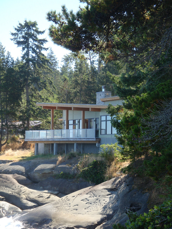 Galiano Island Residence Leith Anderson Architecture